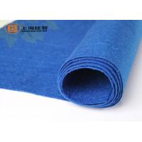 Wholesale Blue Viscose Needle Punched Non Woven Rolls , CE SGS MSDS Approvals from china suppliers