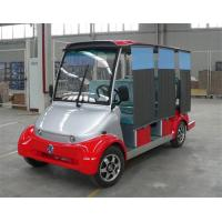 Wholesale Dongfeng Red Color Electric 6 Passenger Electric Car With DC Motor Eco Friendly from china suppliers