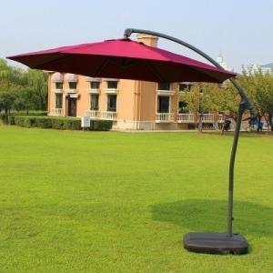 Wholesale Beautifu 10 ft Diameter Offset Hanging Umbrella Parasol from china suppliers