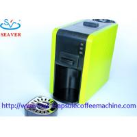Wholesale 230V Italy Pump Yellow Coffee Maker Pods Machine With ABS Material from china suppliers