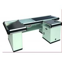 Wholesale Automatic Cash Desk Stainless Steel Table Iron Steel Plates Retail Store Checkout Counters from china suppliers