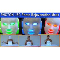 Quality Photodynamic LED Facial Mask Daily Beauty Instrument Anti Acne Customized Logo for sale