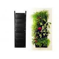 Wholesale Wall-mounted Black Wall Planter Bag Felt Vertical Gardening Grow Bags from china suppliers