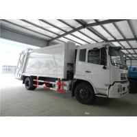 Wholesale Euro II Dongfeng Garbage Compactor Truck 6 Wheels 4cbm For Household Waste from china suppliers