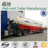 Wholesale SHENGRUN 70 Ton Bulk Cement Powder Transport Semi Trailer With FUWA Axle from china suppliers