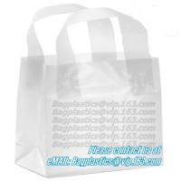 Wholesale Wave Top Bags, flexi loop handle, die cut handle, block bottom, string bag, Jewelry from china suppliers