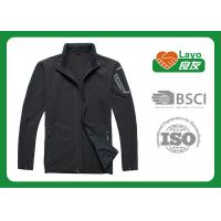 Wholesale Various Size Men Multi Function Jacket For Runing Black Color from china suppliers