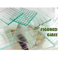 Wholesale Rectangle Millennium 4mm Chip Figured Tempered Float Glass Amber for Gymnasium from china suppliers