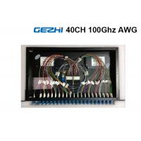 Wholesale 40  Channels Arrayed Waveguide Grating Passive Optical Network Rackmount Module from china suppliers