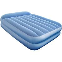 Wholesale Double size Comfortable PVC Flocked inflatable air bed / air mattress from china suppliers