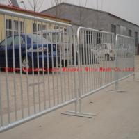 Wholesale High quality crowd control barrier fence( factory ISO 9001 certificate ) from china suppliers