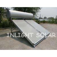 Wholesale Natural Circulation Flat Plate Solar Collector 200L Aluminum And Copper Absorber Body from china suppliers