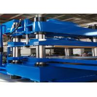 Wholesale 1000 Ton Inversion Plate Vulcanizing Molding Machine Double Layers Mold Structure from china suppliers
