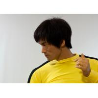 Quality Life Size Silicone Museum Wax Figures ,  Bruce Lee Wax Figure for sale