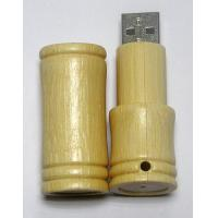 Wholesale High Speed Read Promo USB 2.0 Drives , Bamboo USB Thumb Drive 16GB from china suppliers