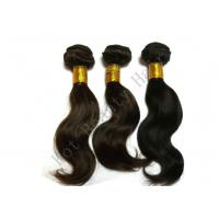 Wholesale Brown Non Remy 100 Brazilian Human Hair Extensions Body Wave Style from china suppliers