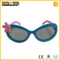 Wholesale hot selling plastic circular polarized 3d glasses for color movies from china suppliers