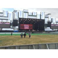 Wholesale Large Outdoor Rental led screen wall , Advertising Electronic Display Boards from china suppliers