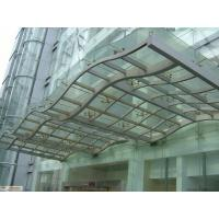 Wholesale Insulated Safety laminated Tempered Glass with PVB, 12mm Toughened laminated Glass For Rain Shed from china suppliers