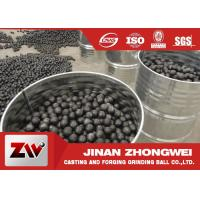 Buy cheap High Chrome high hardness Cast Iron Balls for Cement Plant Ball Mill from wholesalers