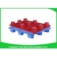 Quality Export Blue Economical Nestable Plastic Pallets Easy Stacking Long Service Life for sale