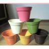 Buy cheap biodegradable decorative flower pot , plant fiber flower pot from wholesalers