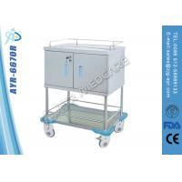 Wholesale Hospital Instrument Cabinet Medical Trolleys Medicine Dispensing Trolley from china suppliers