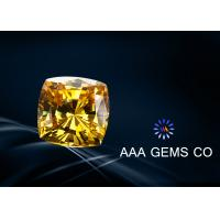 Wholesale 10 MM Grade G Or H Colored Yellow Moissanite Cushion Cut Moissanite from china suppliers