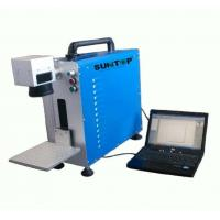 Wholesale Portable Fiber Laser Marking Machine for Auto Parts / Hardware Marking Power 30W from china suppliers