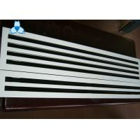 Wholesale Anodized / Powder Coated Single Deflection Grille For Airflow Distribution Uniformity from china suppliers