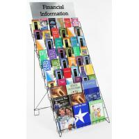 Wholesale 10-Tiered Wire Magazine Display Racks With Exhibition Hall from china suppliers