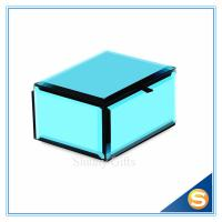 Wholesale Wedding Gifts Custom Design Blue Glass Jewellery box Wedding Gift box from china suppliers