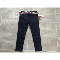 Wholesale Professional Skinny Denim Jeans DTM Stitching With Stripe Belt TW81562 from china suppliers