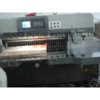 Wholesale Program Control Paper Guillotine (K-780 / 920 / 1150 / 1300 / 1370 / 1550 / 1760CF) from china suppliers