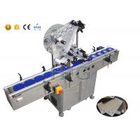 Wholesale Delta servo motor self adhesive labelling machine plan sheet label applicator machine from china suppliers