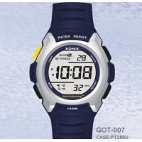 Wholesale Male Waterproof Digital Self Calibrating Watches With Alarm Count-Down Timer from china suppliers