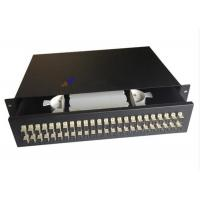 Wholesale Steel Sc Fiber Optic Joint Box , 48 Port Fiber Patch Panel Drawer Type from china suppliers