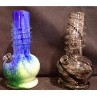 Wholesale 8 INCH SOFT GLASS WATER PIPES from china suppliers