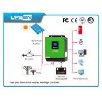 Wholesale 3000VA/2400W Off Grid DC to AC Solar Inverter with 60A MPPT solar charger from china suppliers
