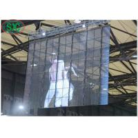 Wholesale IP54 Indoor Full Color Transparent LED Screen SMD1921 32768 Dots/sqm from china suppliers