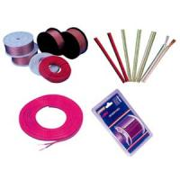 Wholesale OFC Transparent Electric Wire Cable copper speaker wire Red stripe from china suppliers