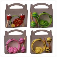 Wholesale Colorful Kids Musical Instrument , Customized Percussion Toy Set from china suppliers