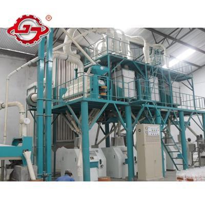 Maize milling process machinery