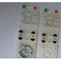 Wholesale Customized Conductive Rubber Keypads Fashion Skin - Touch For Remote Control from china suppliers