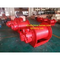 Wholesale Hydraulic winch/Standard Hydraulic Winch 5 ton 50KN Hydraulic Winch for crane from china suppliers