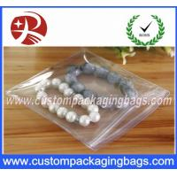 Wholesale Transparent Plastic PVC Ziplock Custom Packaging Bag  For Jewelry Packing from china suppliers