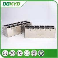 Wholesale Gigabit Ethernet Rj45 Connector 10/100BaseT 2X6 Side Entry RoHS SFP005-03-L from china suppliers