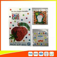 Wholesale Colorful Custom Printed Ziplock Bags Recyclable For Cosmetic / Food Packing from china suppliers