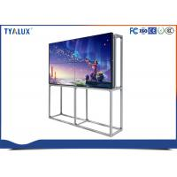 "Wholesale 55"" FHD 1.8 mm ultra narrow bezel seamless video wall for fashion store advertising from china suppliers"