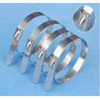 Buy cheap Stainless steel self-locking cable ties from wholesalers